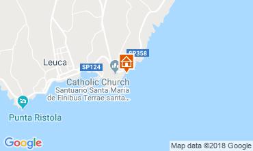 Mapa Santa Maria di Leuca Alojamento insólito/Moradia atípica  55854