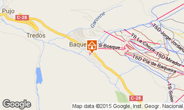 Mapa Baqueira-Beret Est�dio 39744