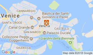 Mapa Veneza Apartamentos 113527