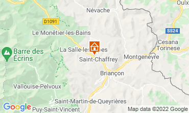 Mapa Serre Chevalier Chal� 2931
