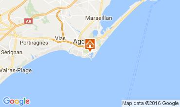 Mapa Cap d'Agde Estúdio 107212