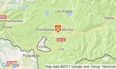 Mapa Font Romeu Apartamentos 15696