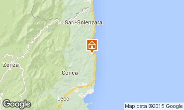 Mapa Ste Lucie de Porto Vecchio Vivenda 69199
