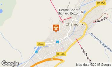 Mapa Chamonix Mont-Blanc Apartamentos 663
