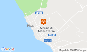 Mapa Marina di Mancaversa Apartamentos 117653