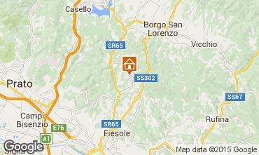 Mapa Floren�a Apartamentos 97623