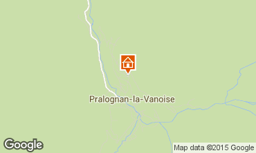 Mapa Pralognan la Vanoise Apartamentos 52032