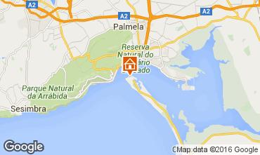 Mapa Gr�ndola Apartamentos 102574