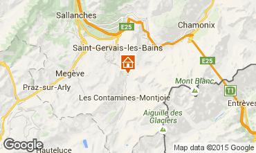 Mapa Saint Gervais Mont-Blanc Apartamentos 18013
