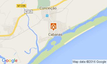 Mapa Cabanas de Tavira Apartamentos 86261