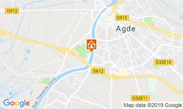 Mapa Agde Mobil Home 51877