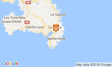 Mapa Sainte Anne (Martinique) Vivenda 73359