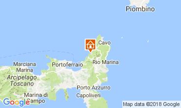 Mapa Rio nell'Elba Apartamentos 112921