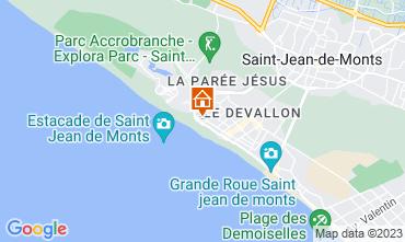 Mapa Saint Jean de Monts Estúdio 79404