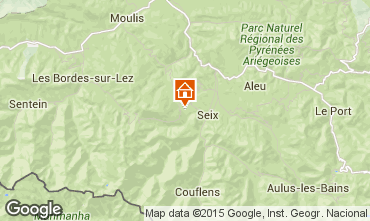 Mapa Seix Casa de turismo rural/Casa de campo 98554
