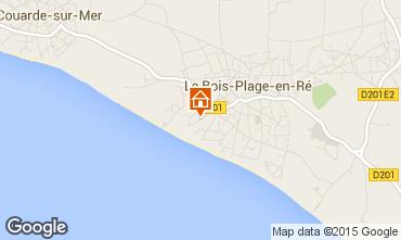 Mapa Le Bois-Plage-en-Ré Casa 73424