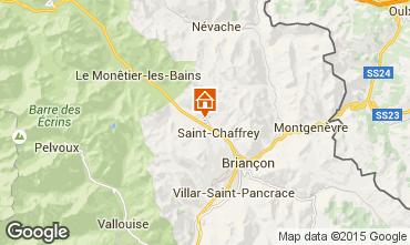Mapa Serre Chevalier Chal� 47619