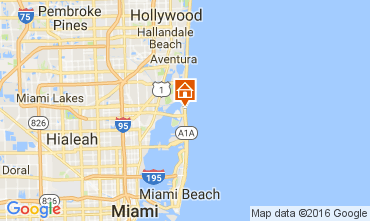 Mapa Miami Beach Apartamentos 47405