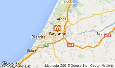 Mapa Bayonne Apartamentos 94321