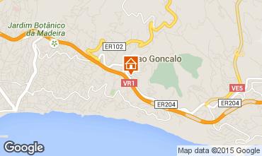 Mapa Funchal Apartamentos 50402