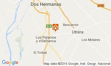 Mapa Utrera Casa de turismo rural/Casa de campo 106073