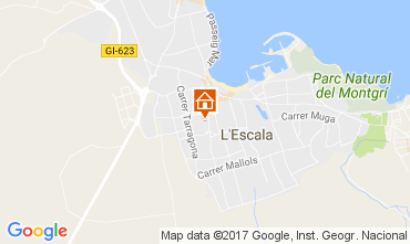 Mapa L'escala Vivenda 107579