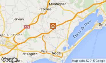 Mapa Cap d'Agde Vivenda 85327