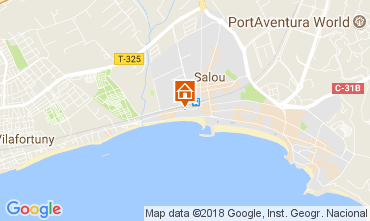 Mapa Salou Vivenda 113021