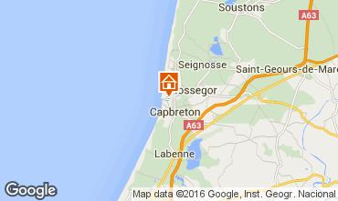Mapa Hossegor Apartamentos 6464