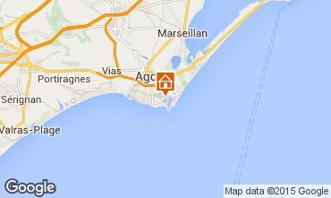 Mapa Cap d'Agde Estúdio 98802