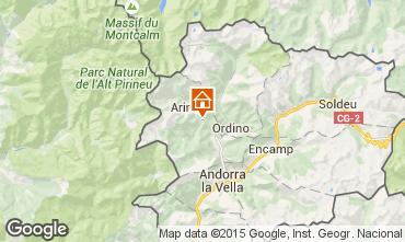 Mapa Pal-Arinsal Quarto de h�spedes 91046