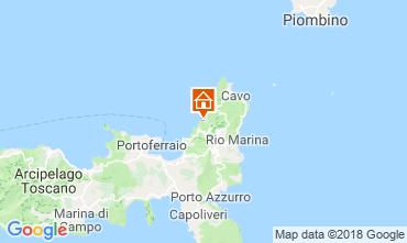 Mapa Rio nell'Elba Apartamentos 117213