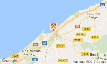 Mapa Mohammedia Apartamentos 111635