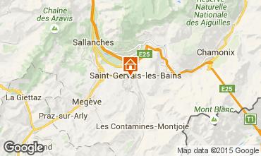 Mapa Saint-Gervais-les-Bains Estúdio 86819