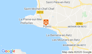 Mapa Pornic Casa 92007