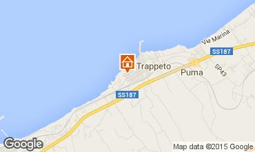 Mapa Trappeto Apartamentos 36945