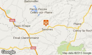 Mapa Gérardmer Chalé 92467
