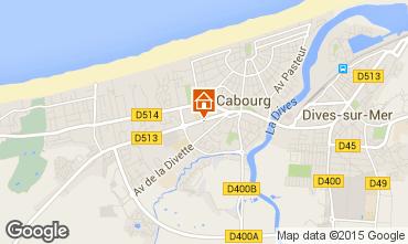 Mapa Cabourg Apartamentos 97157