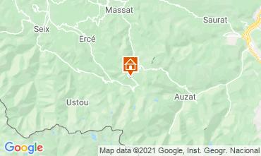 Mapa Aulus les Bains Casa de turismo rural/Casa de campo 106964