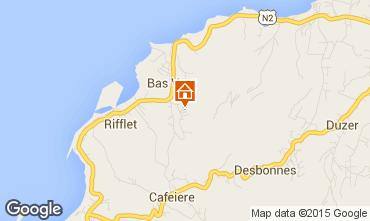 Mapa Deshaies Casa de turismo rural/Casa de campo 73814