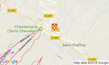 Mapa Serre Chevalier Apartamentos 60452
