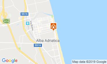 Mapa Alba Adriatica Apartamentos 118420