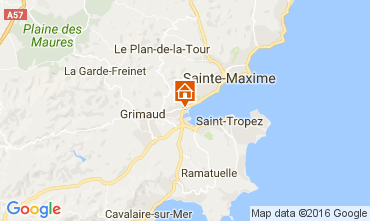 Mapa Port Grimaud Mobil Home 14842