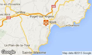 Mapa Saint Aygulf Mobil Home 77592