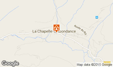 Mapa La Chapelle d'Abondance Apartamentos 68203