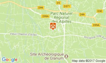 Mapa Saint Rémy de Provence Casa 112732