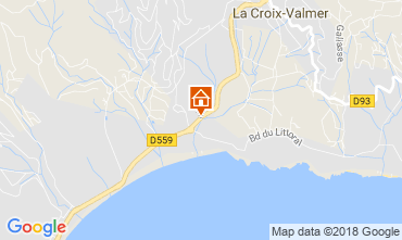 Mapa La Croix Valmer Apartamentos 114700
