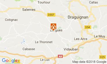 Mapa Lorgues Apartamentos 115278