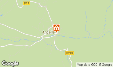 Mapa Ancelle Chalé 68591