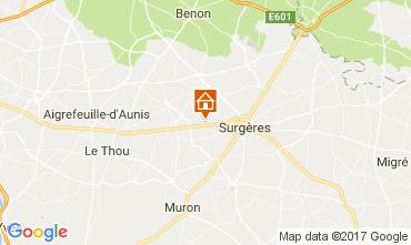 Mapa La Rochelle Casa de turismo rural/Casa de campo 108187